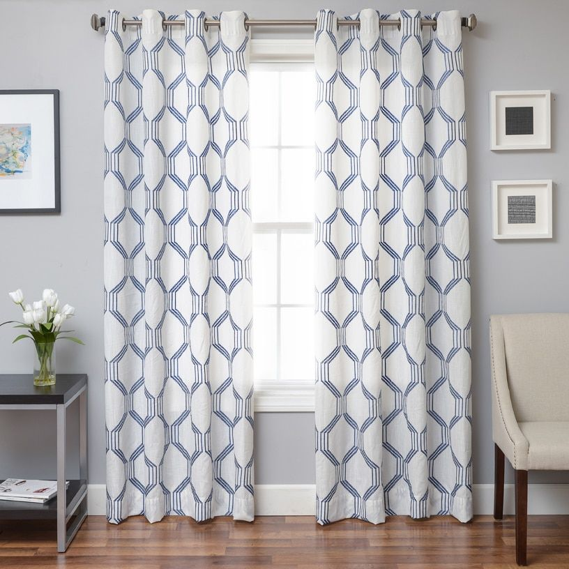95 Inches96 InchesGrommet Curtains Accentuate The Rooms In Your Home With Which Come A Variety Of Colors Styles And Lengths
