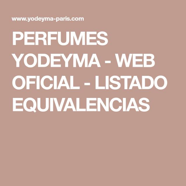 perfumes yodeyma mujer