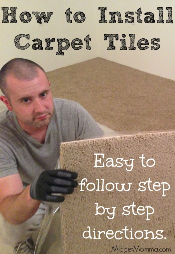How To Install Carpet Tiles Use These Easy To Follow