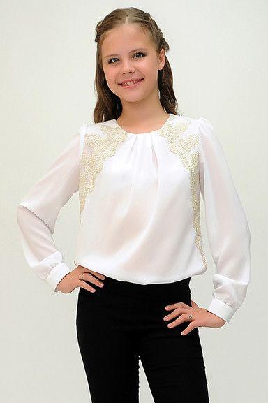 651dc00c03eac6b Чики Рики: Ladetto. Школьные блузки для девочек | Kids Fashion ...