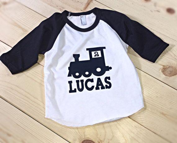 Personalized Train Kids Shirt