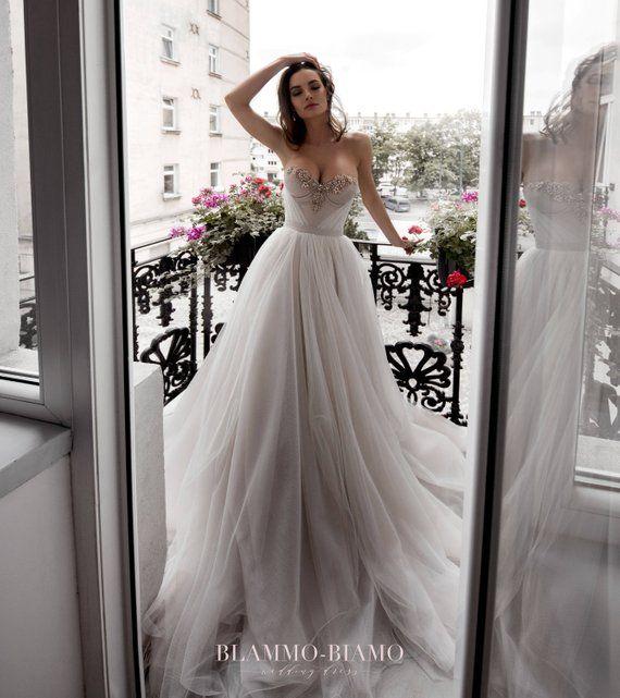 Wedding Dress NORA By Blammo-Biamo • A-line Wedding Dress