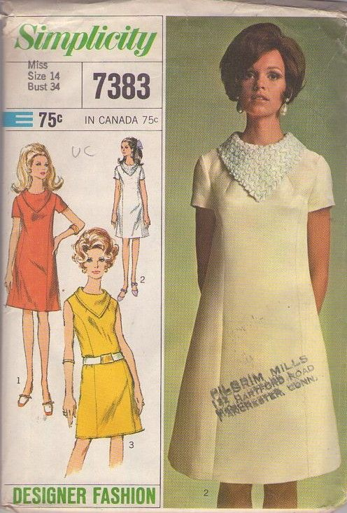 Simplicity 1960 S Clothing Patterns Vogue Patterns Vintage Outfits