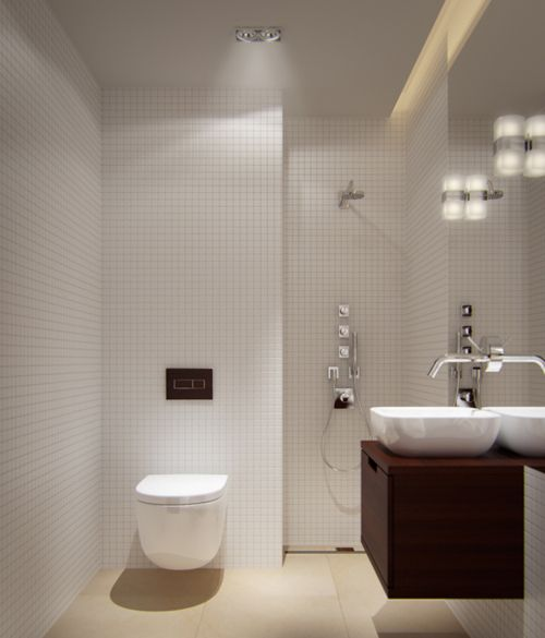 Small Bathroom Lighting Ideas | Bathroom | Pinterest | Small ...