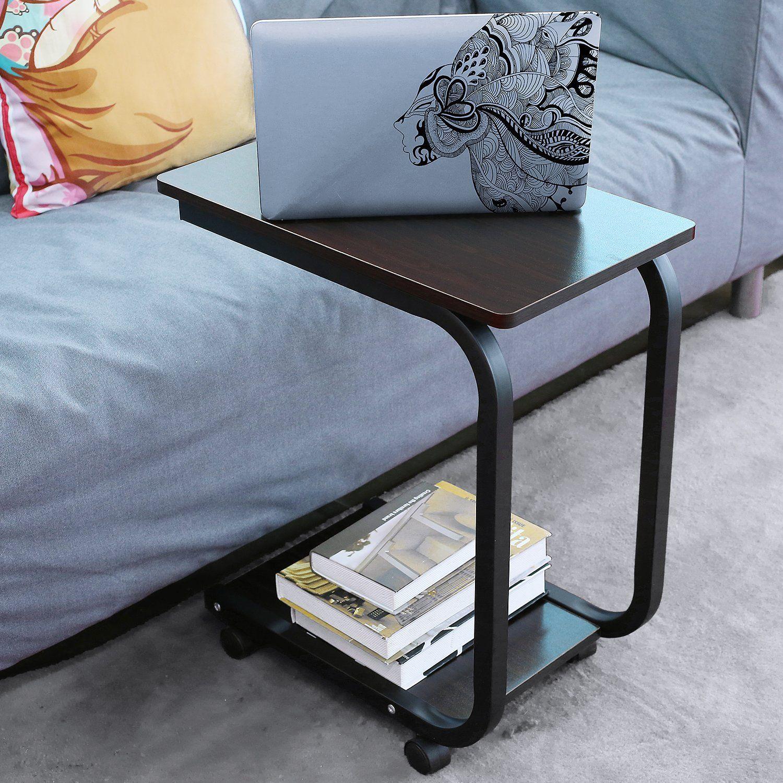 Rolltisch bett  HOMFA Laptoptisch U-Form Notebook Tisch PC Tisch Notebook ...