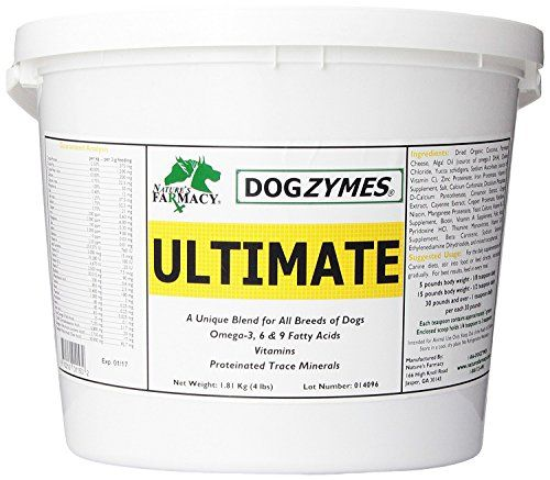 Dogzymes Ultimate Skin and Coat with Algal Oil and Organic Coconut 4Pound *** Be sure to check out this awesome product.Note:It is affiliate link to Amazon.