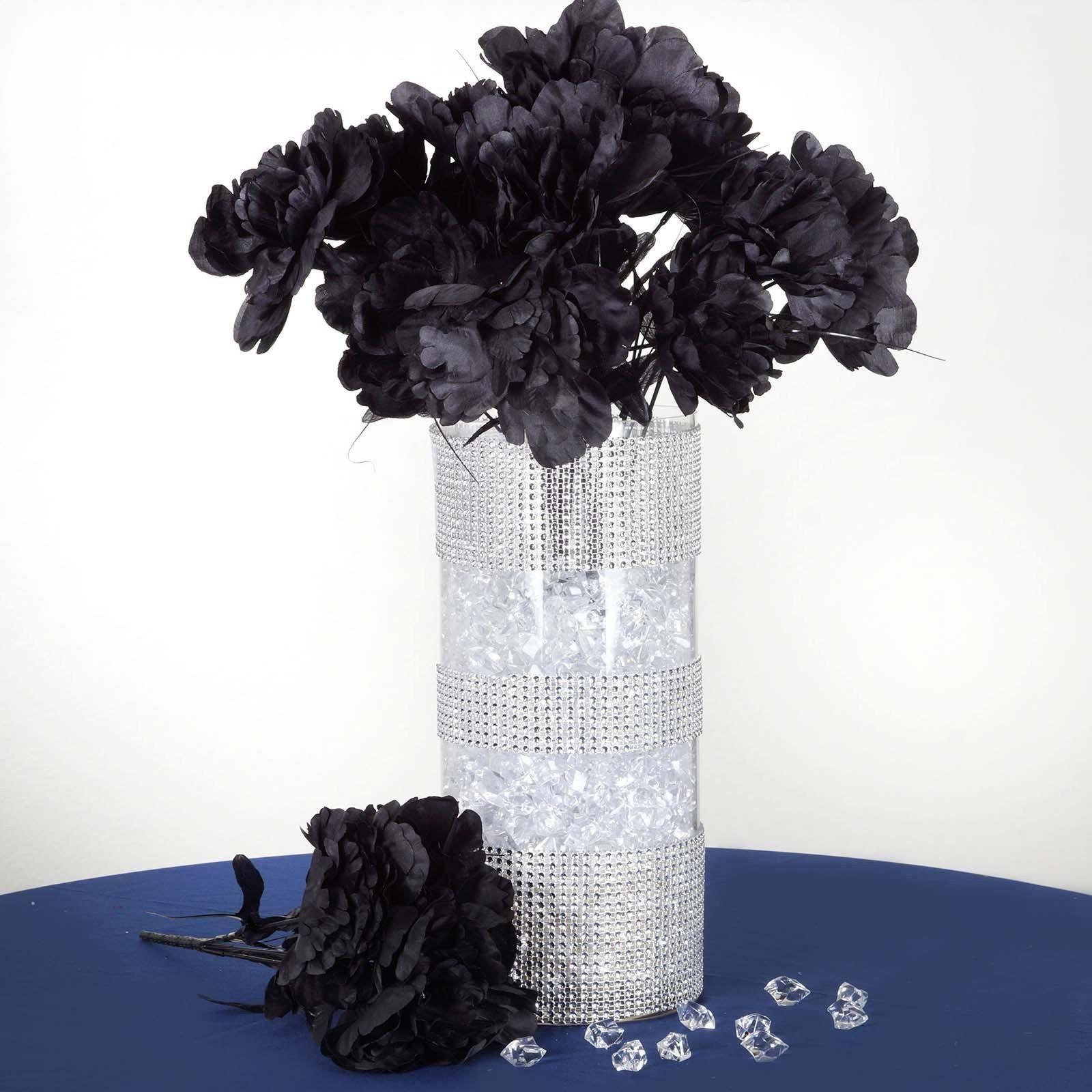 60 artificial bridal bouquet peony silk flowers home party decor 60 artificial bridal bouquet peony silk flowers home party decor black mightylinksfo
