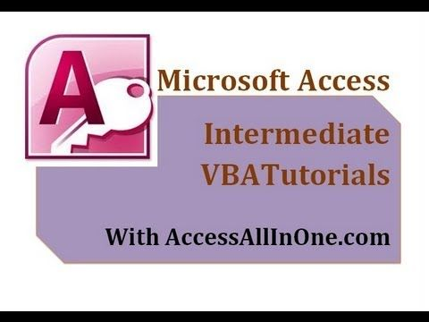 01\/28 - Creating A Calendar - Introduction - MS Access VBA - training calendar template