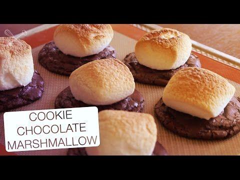 Cookie de Chocolate e Marshmallow - Confissões de uma Doceira Amadora - YouTube