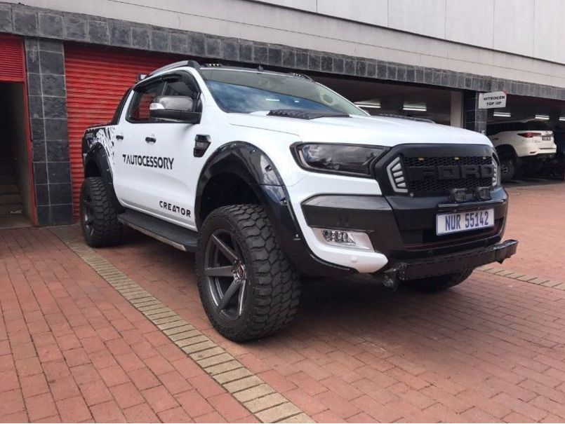 Ford Ranger 4x4 Raptor Kit For Sale With Images Ford Ranger