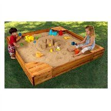 Merveilleux The KidKraft Backyard Sandbox Gives Kids A Perfect Place To Build  Sandcastles, Dig For Treasure And Play With All Of Their Favorite Sand Toys.