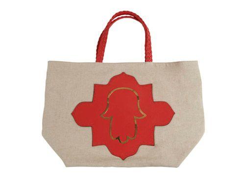 cool handbag!!!  Love the bold color and design.
