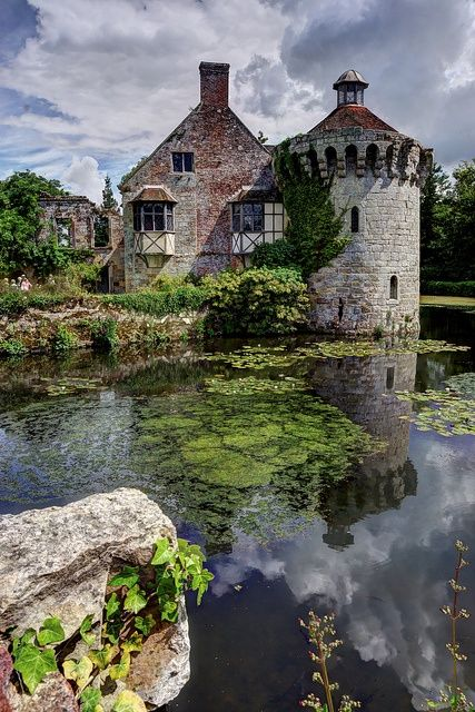 Scotney Castle, Kent, England.I would like to visit this place one day.Please check out my website thanks. www.photopix.co.nz