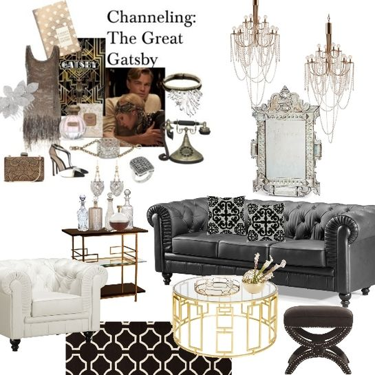 Great Gatsby Interior Design Google Search 1920s Home Decor