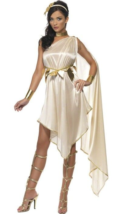 Golden Goddess Women's Roman Costume | Moon Fairy ...