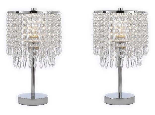 Bedroom Lamps For A Warm And Inviting Space Crystal Bedroom