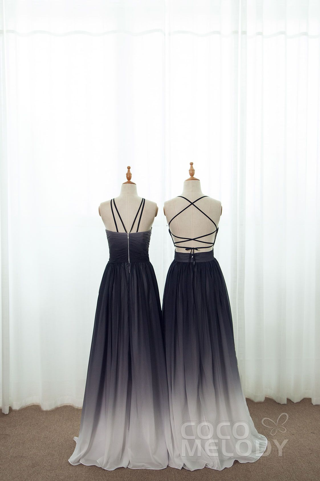 Black ombre shade bridesmaid dresses for your maids all sizes black ombre shade bridesmaid dresses for your maids all sizes and customization option ombrellifo Gallery