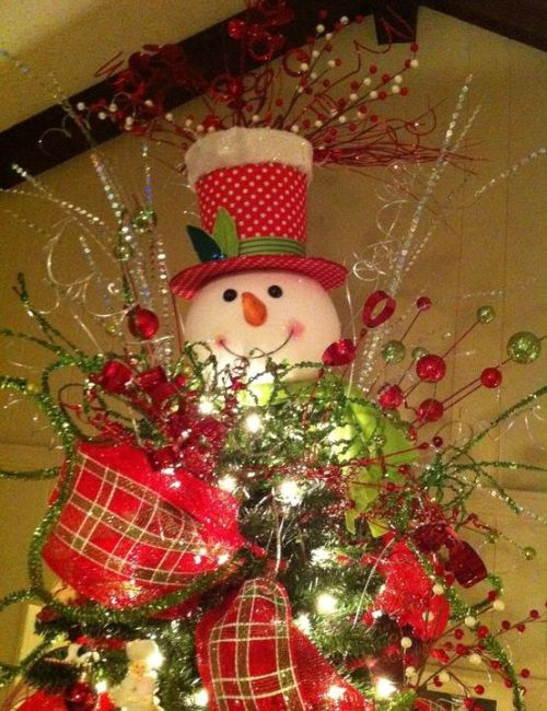 Snowman-christmas-tree-toppers_4 What tori likes Pinterest