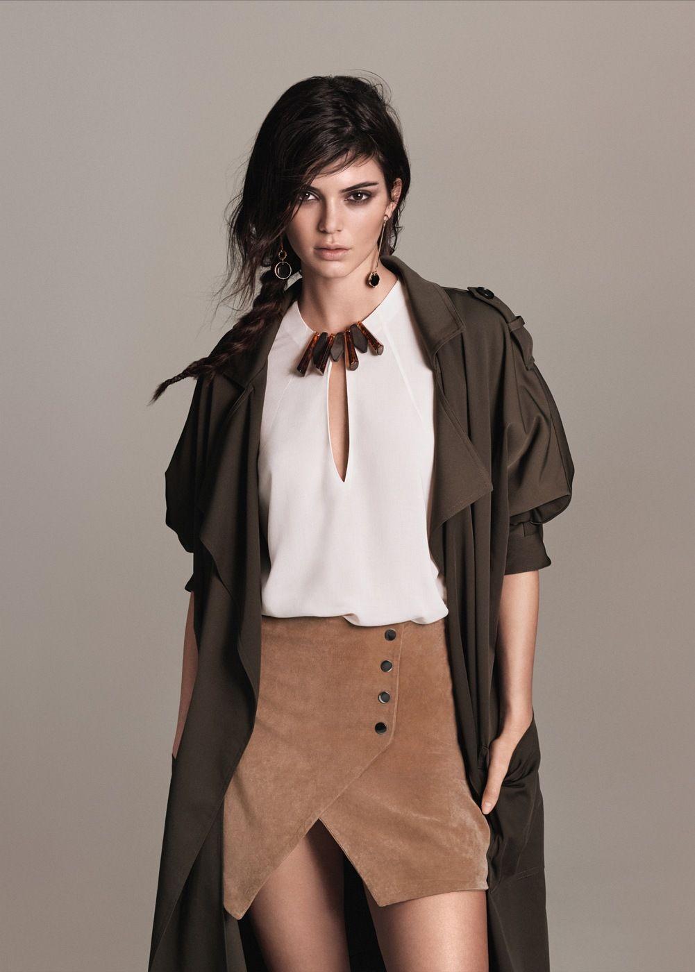 e63c0ac0f9da Suede wrap skirt Mango Fashion