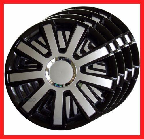 15 039 039 Wheel Trims For Ford Transit Custom Tourneo Full Set 4x15 034 Black Silver Aksesuarlar