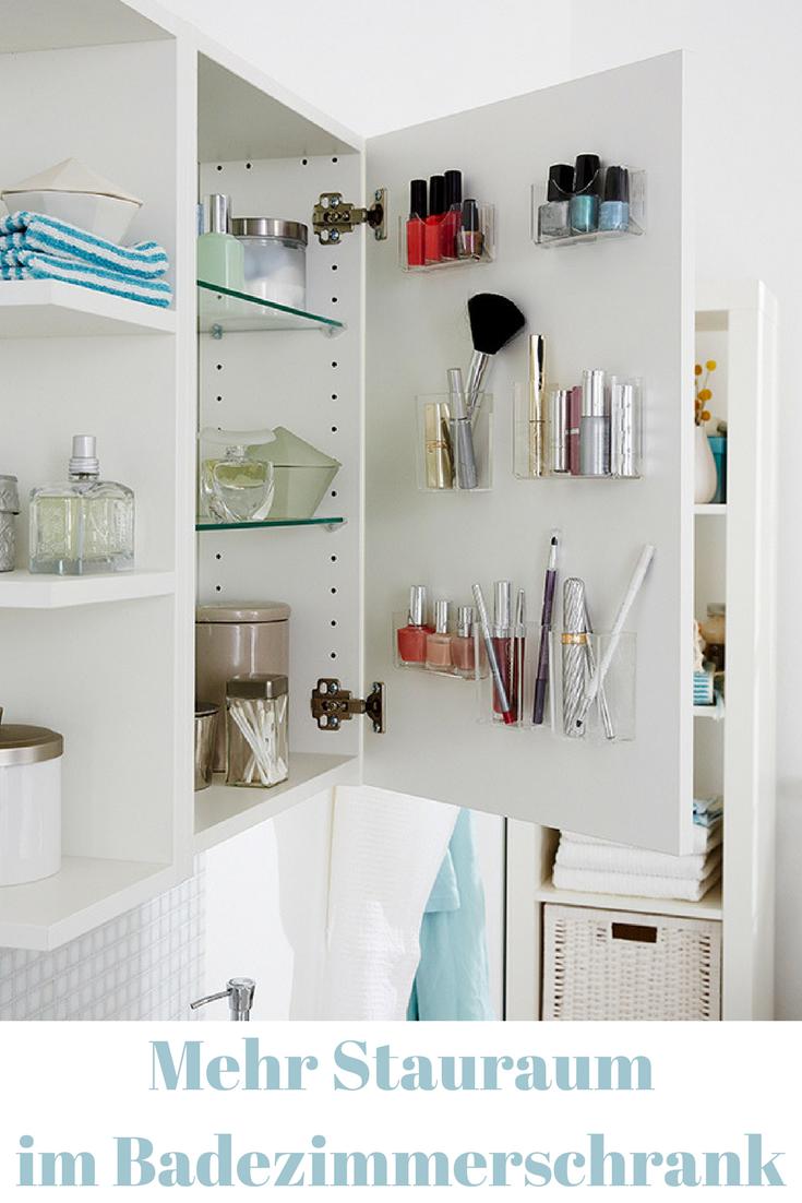 Mehr Stauraum Im Schrank Selbst De Stauraum Ideen Bad Einrichten Badezimmer Aufbewahrung
