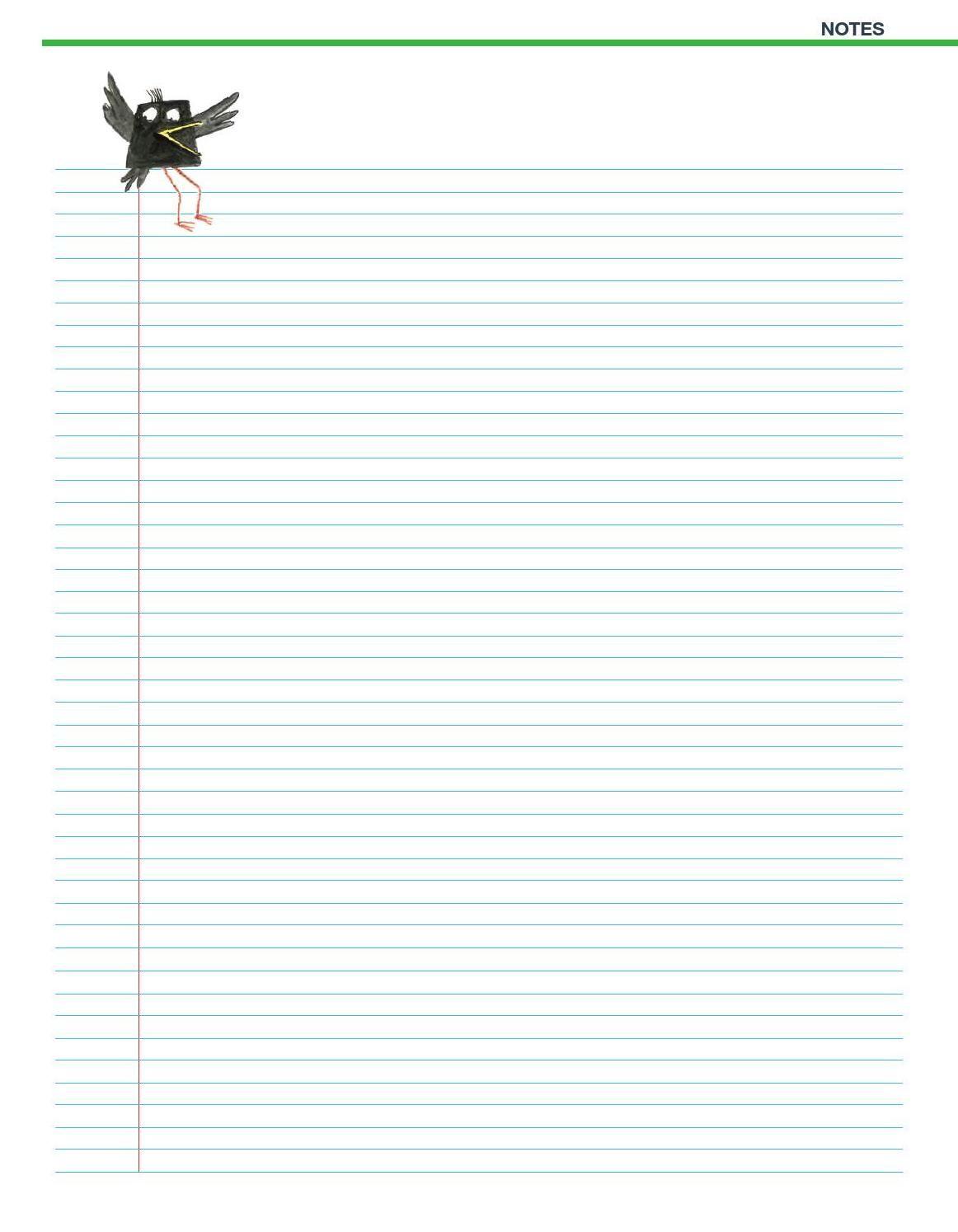 NOTES - BIRD