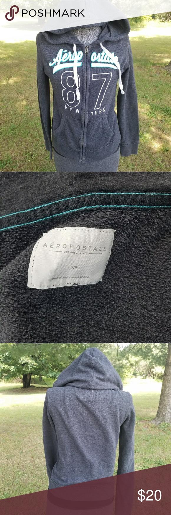 Aero Full Zip Hoodie Aeropostale sweatshirt. Great