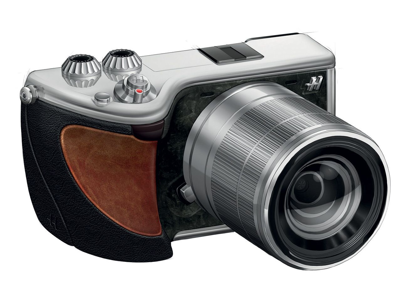 Hasselbladleather - Hasselblad 24MP Lunar - an 'ultimate luxury' mirrorless camera