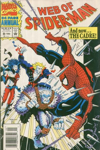 Steve Lukather Yahoo Image Search Results: Web Of Spider-Man Annual #9 June 1993 #thenerdrave #marvel