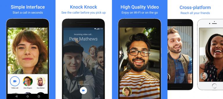 Google's super simple crossplatform video calling app