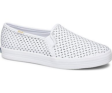 0406ce1efaf Women - KEDS X kate spade new york DOUBLE DECKER PERF EYELET LEATHER - White