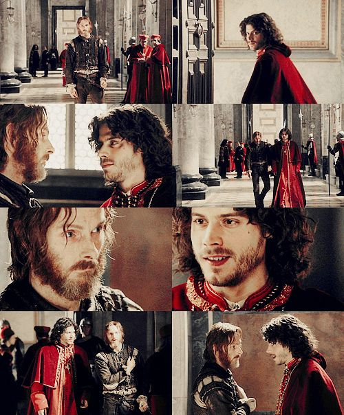 Cesare And Micheletto A Beautiful Bromance