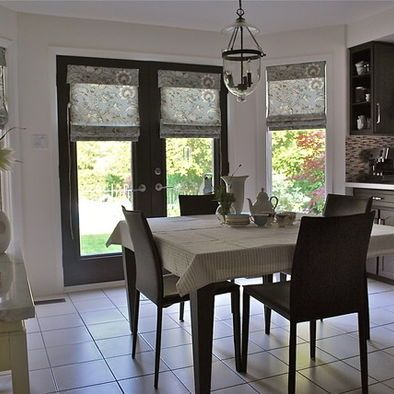 Dining Room Window Blinds Cottage On The Beach  Traditional  Living Room  Providence