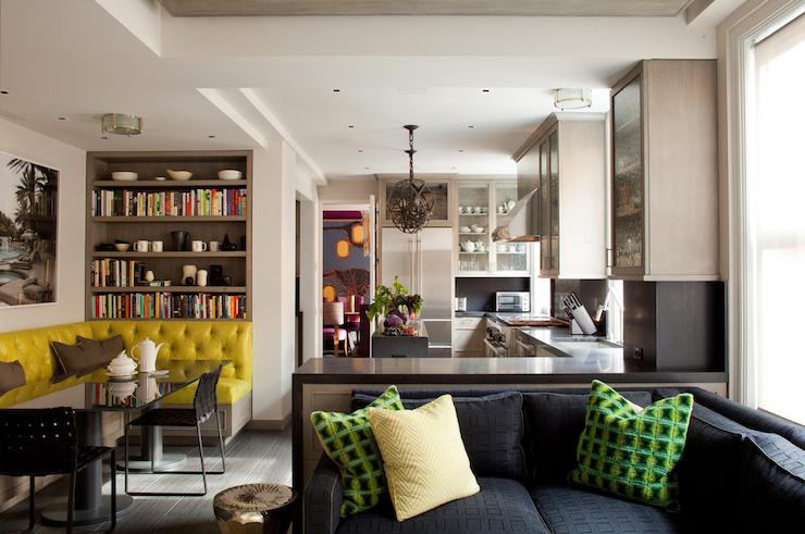 Amanda Nisbet Design   Kitchens   Mid Century Modern Kitchen, Open Floor  Plan,