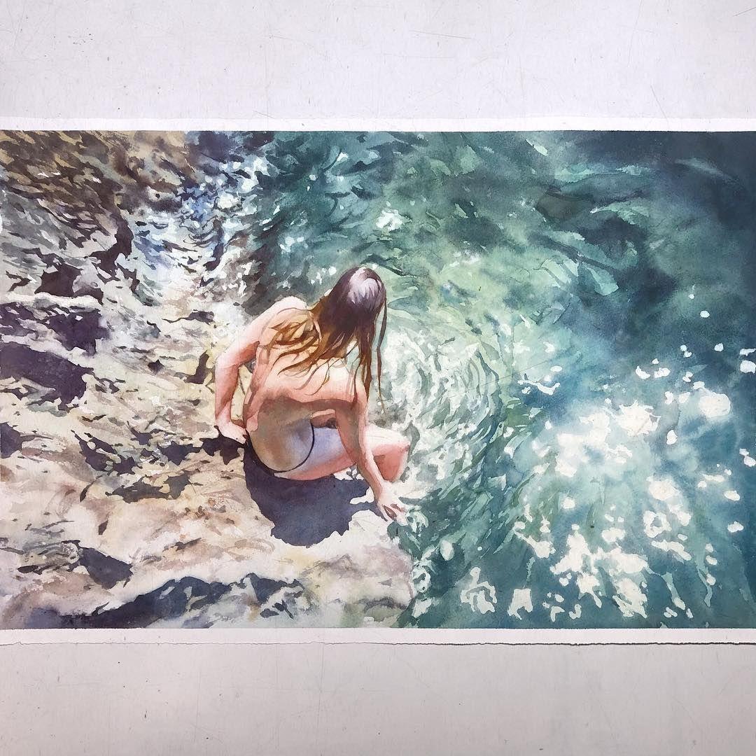 Marcos Beccari On Instagram Domingo Aquarela Watercolor