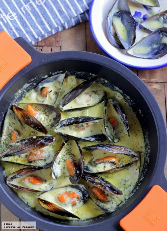 Mejillones con crema y apio receta mediterranean food food and mejillones con crema y apio receta forumfinder Choice Image