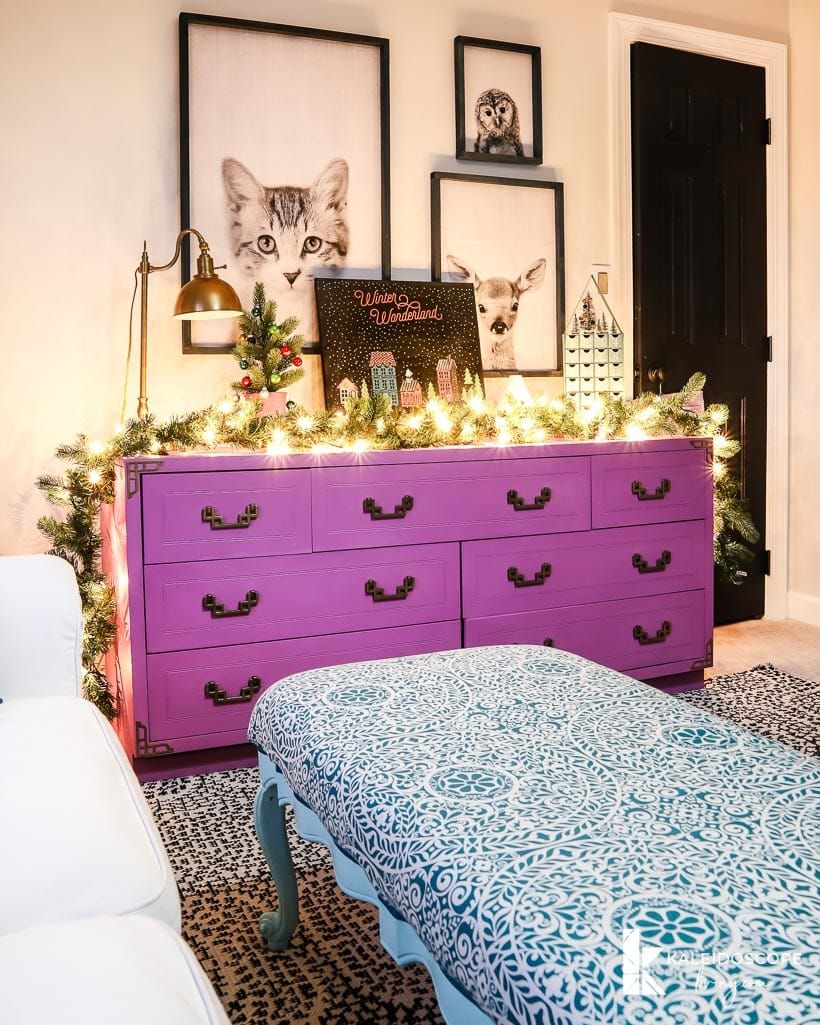 CHRISTMAS IN MY GIRLS ROOMS A FIRST FOR ME CHRISTMAS