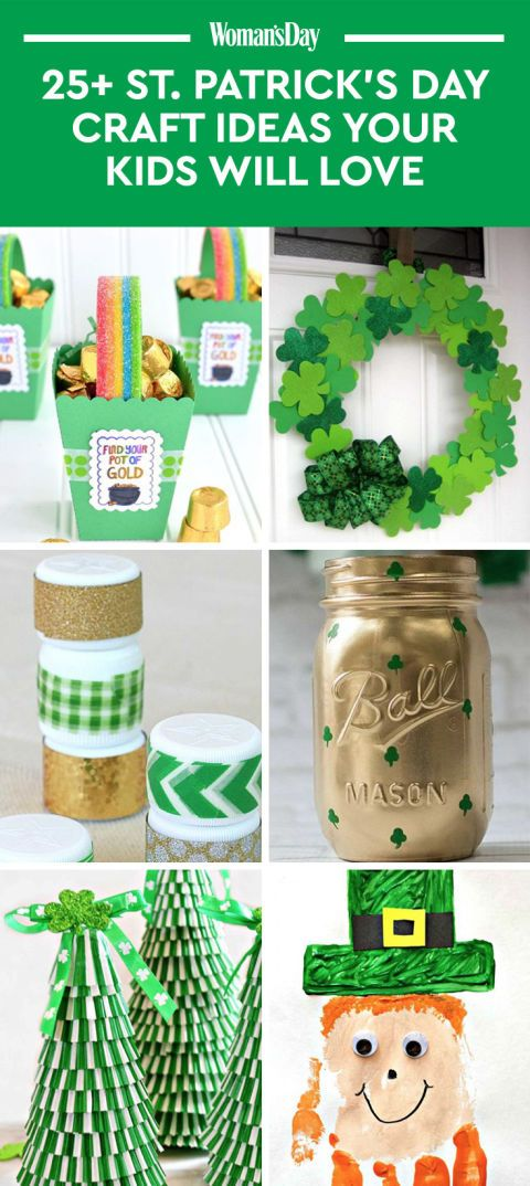 30 St Patrick S Day Crafts To Make With Your Little Leprechauns