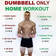 this is a full body workout that only utilises dumbbells