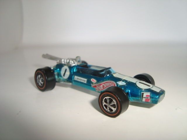 Hot Wheels Redline Brabham Repco F1 Grand Prix Metallic Aqua