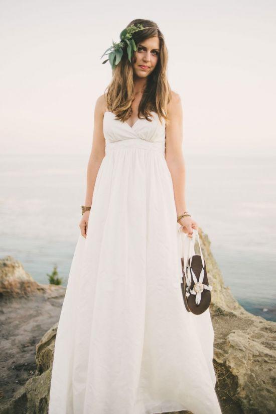 Win A Silk Heirloom Wedding Dress Bridal Sandals That Empower
