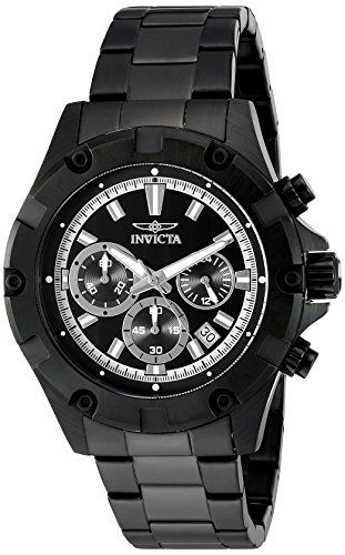 Invicta Men's 'Specialty' Swiss Quartz Stainless Steel Casual Watch (Model: 15608) * Check this awesome product by going to the link at the image.