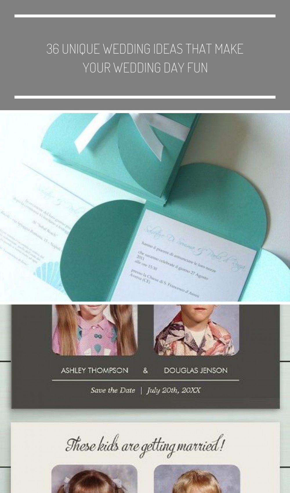 Invitaciones de boda sencillas – Ejemplos para copiar – #Wedding ideas invitacio…