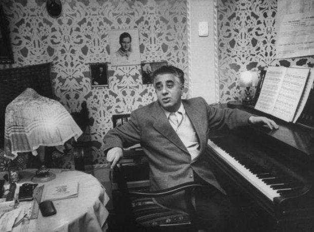 "Aram Khachaturian, ""Sabre Dance"" composer."