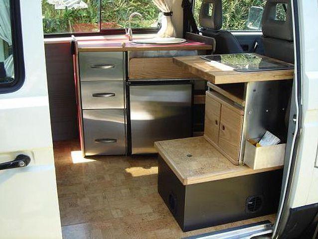 stainless 638 480 pixels combi vw t2 pinterest am nagement et int rieur. Black Bedroom Furniture Sets. Home Design Ideas