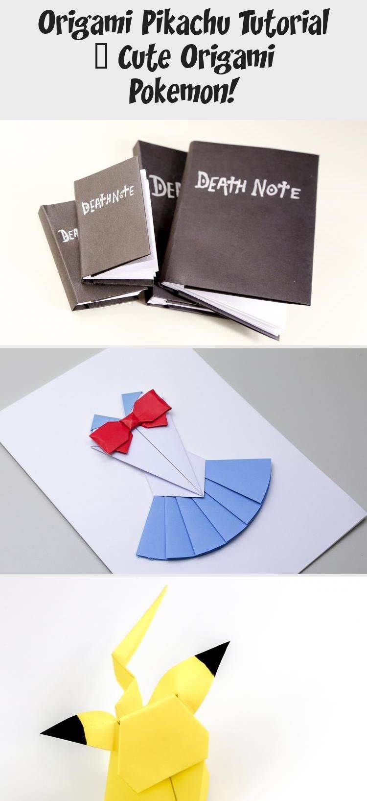 Photo of Origami Pikachu Tutorial – Süßes Origami Pokémon! – Paper Kawaii #origamiArqu…