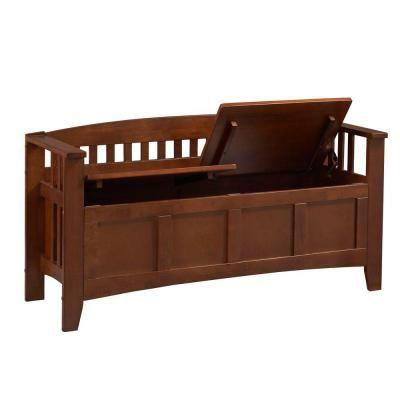 Home Depot Home Decorators Collection Storage Bench Short Split Seat Storage