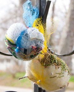 Crafting A Green World The Home For Green Crafts And Tutorials Bird Crafts Bird Nesting Material Produce Bags