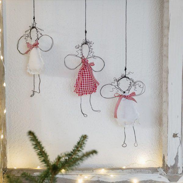 Photo of Engel DIY für Weihnachten oder neue Drahtengel • Pomponetti