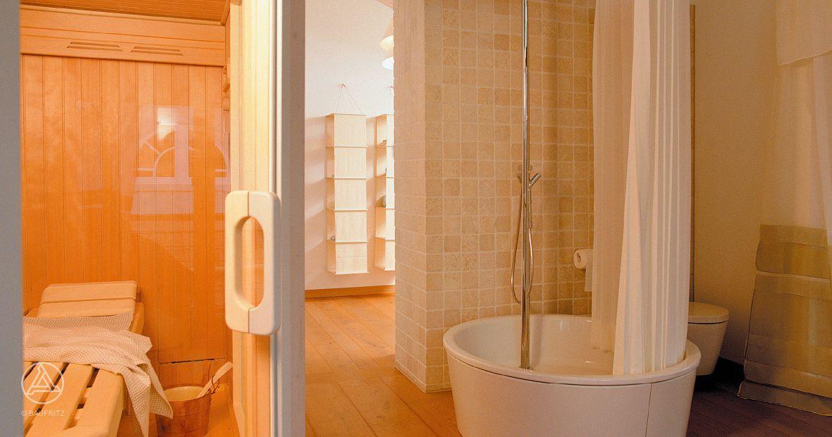 Badezimmer Oase ~ Eine kleine wellness oase ist das badezimmer im baufritz